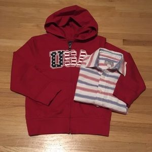 Children's Place Americana Collection Hoodie
